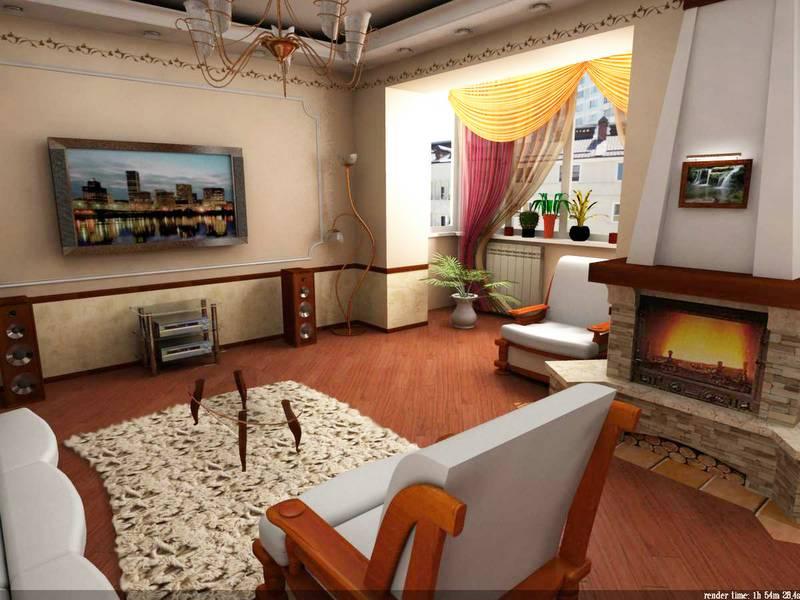 Дизайн интерьера квартиры- diyru